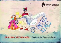 """Era una vez al Mes..."" Teatro Infantil em Braga"
