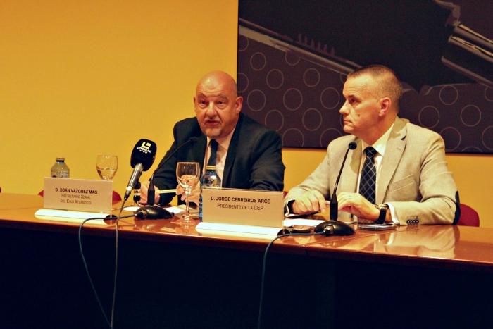 La CEP y el Eixo Atlántico crean un grupo de trabajo para la mejora de las infraestructuras en la eurorregión