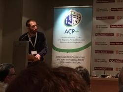 La Agencia de Ecologia participa en la asamblea general de la ACR+