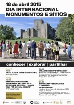 Guimarães commemora Dia Internacional de Monumentos e Sítios com diversificado programa cultural