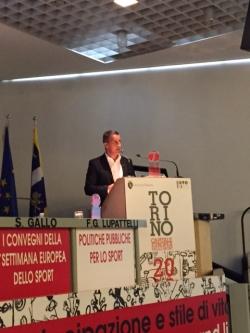 Guimarães  se convierte en ejemplo de promoción del deporte, en Turín que es Capital Europea del Deporte 2015