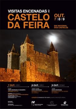 """Feira celebra Día Nacional de los Castillos con """"Visitas encenadas"""""""
