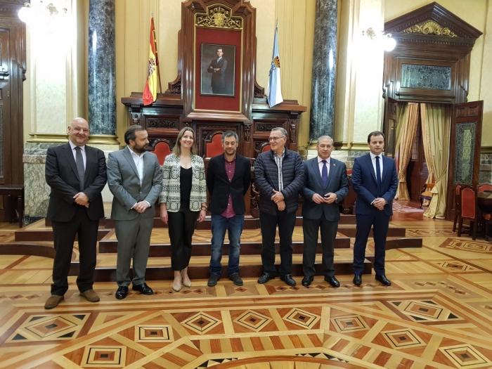El Eixo Atlántico celebra su comisión ejecutiva en A Coruña