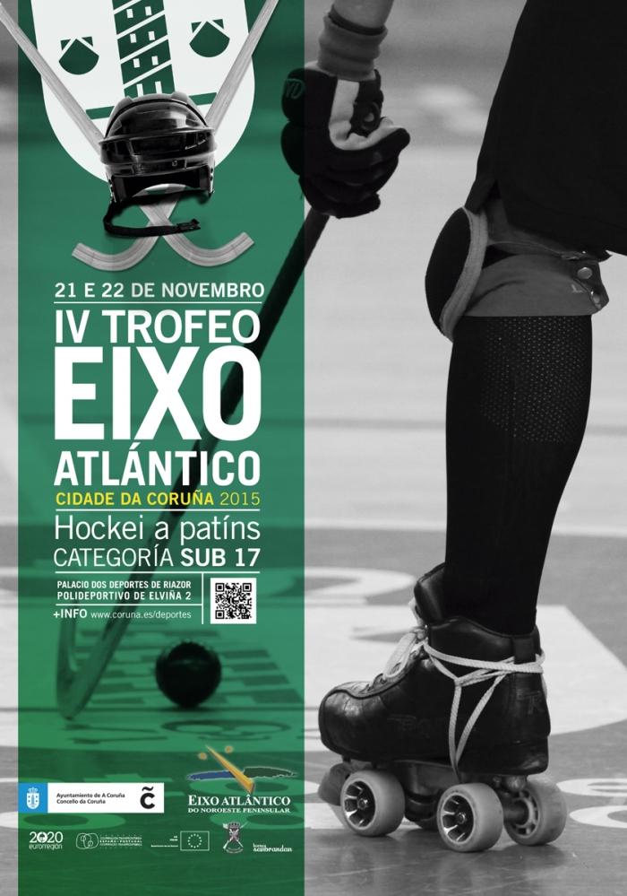 A Coruña acoge el Torneo Eixo Atlántico de Hockey sobre patines, este fin de semana