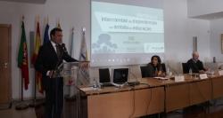 Las ciudades del Eixo comparten sus experiencias educativas en un seminario en Bragança