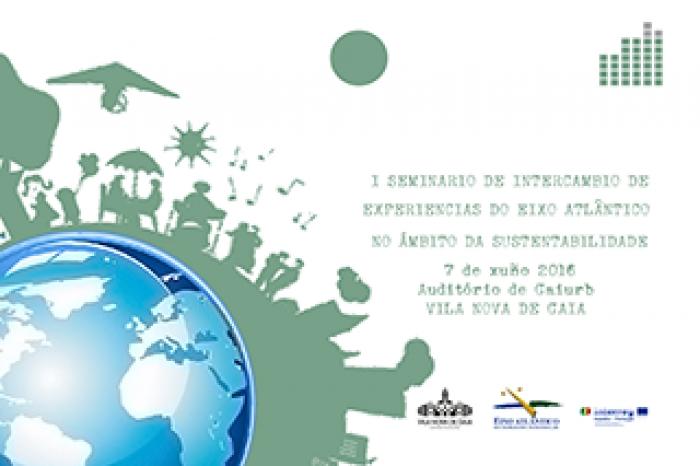 Gaia cenário do I Seminário de Experiências na Sustentabilidade