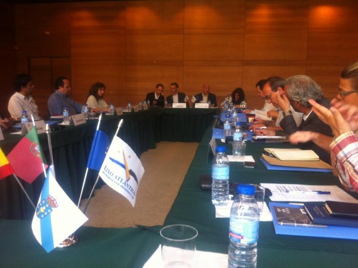 Santa María da Feira acoge  una reunión de la Comisión de Turismo del Eixo Atlántico