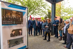 O Parque Urbano de Ermesinde, en Valongo, acolle a exposición conmemorativa do Eixo