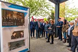 El Parque Urbano de Ermesinde, en Valongo, acoge la exposición conmemorativa del Eixo