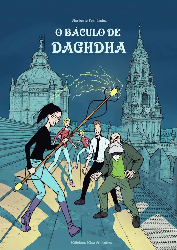 """El Eixo Atlántico publica """"O Báculo de Daghdha"""", el nuevo cómic de Norberto Fernández"""