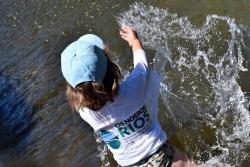 Campaña de limpieza de los rios en Vila Nova de Famalicão
