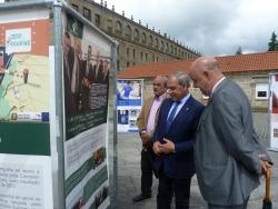 Exposición conmemorativa en Monforte de Lemos