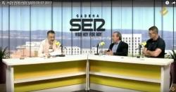 Chano Rodríguez e Guilherme Aguiar analizan o mundo do deporte en Radio Vigo
