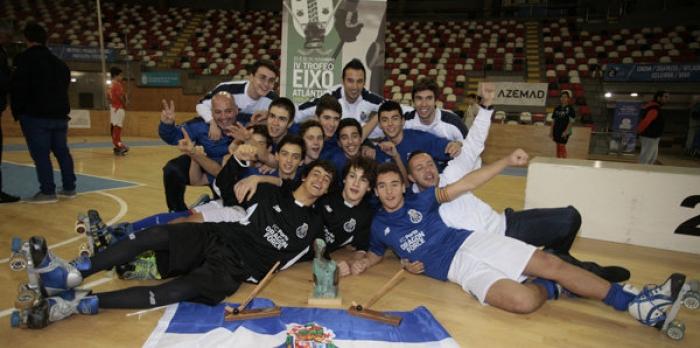 El FCP Dragon Force de Porto, gana el Torneo de Hockey Eixo Atlántico