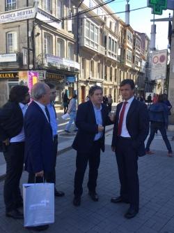Famalicão busca inspiración en Pontevedra para un modelo de desarrollo urbano