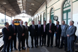 Portugal abre o concurso para electrificar a vía do tren entre Viana e Valença