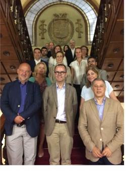 La Comisión Delegada de Cultura da los primeros pasos para la organización de la Capital da Cultura y la Bienal de Pintura