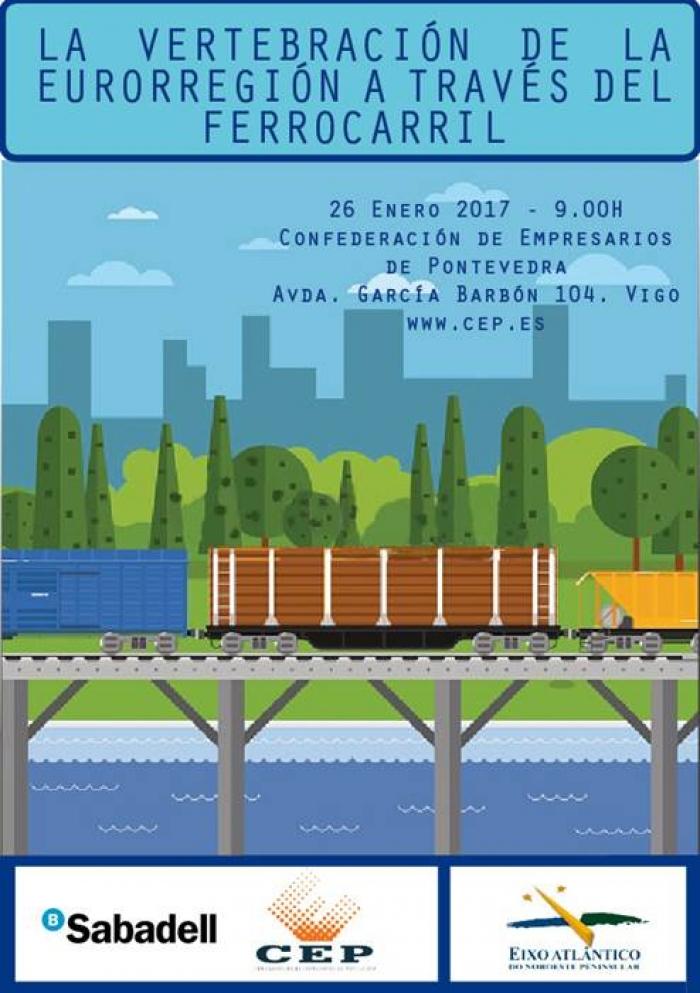 Secretarios de Estado de España y Portugal participan en el foro sobre la vertebración del tren entre Galicia y Portugal