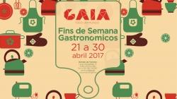 Fins de semana gastronómicos de 21 a 30 de Abril em Gaia