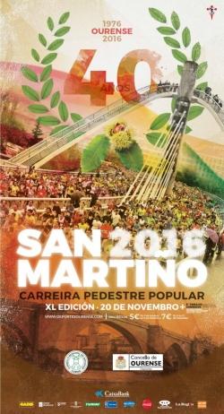 Ourense acollerá a Carreira Popular de San Martiño