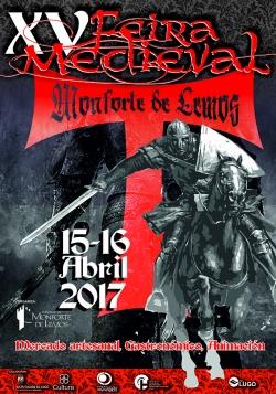 Monforte presenta a XV edición da Feira Medieval, que se celebrará o 15 e 16 de abril