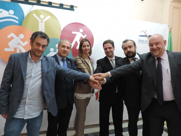 Lugo defende os Jogos do Eixo Atlântico como elemento de promoção, de coesão territorial e de dinamização do interior da Euro Região
