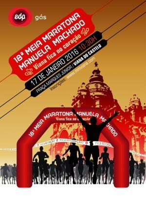 18.ª Media Maratón Manuela Machado, el 17 de enero, en Viana