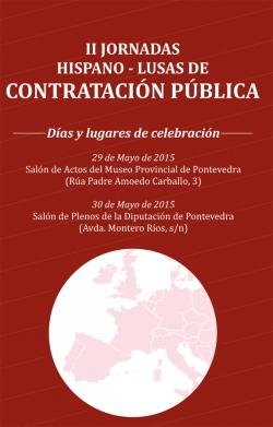 Jornadas Hispano-Lusas de Contratación Pública en Pontevedra