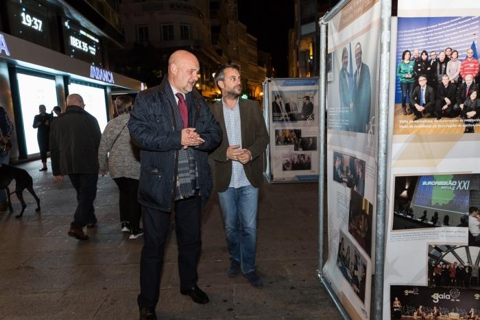 A Corunha acolhe a exposição comemorativa dos 25 anos do Eixo