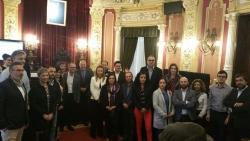 Reunião do grupo temático de Educação e Cultura do Eixo, em Ourense
