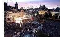 """Braga. 300 mil personas en """"Noite Branca"""""""