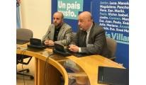 O secretario xeral do Eixo reúnese co líder da oposición no Parlamento galego
