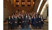 Los Reyes y el Presidente portugués clausuran Asamblea General del Eixo Atlántico