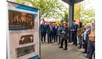 O Parque Urbano de Ermesinde, em Valongo, acolhe a exposição comemorativa do Eixo