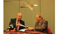 Eixo Atlántico y CRTVG firman un convenio de colaboración