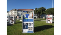 A exposição comemorativa dos 25 anos do Eixo chega a Viana