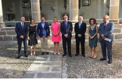 La RIET y los cuatro Parlamentos de la frontera analizan la puesta en marcha de la Interparlamentaria